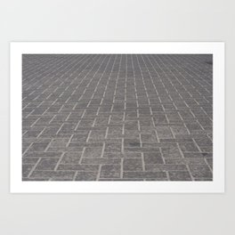 Cobblestone Art Print