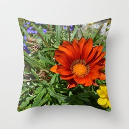 Summer flowers II Throw Pillow