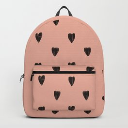 Black hearts Backpack