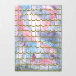 Space Pattern Canvas Print