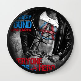 Anarchy Found (Superhero Romance)  - by JA Huss Wall Clock
