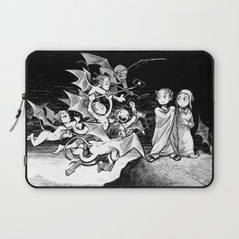 The Inferno: Selfiesticks (linework edition) Laptop Sleeve