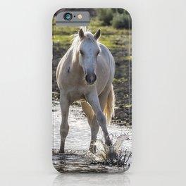 Traveler Making a Splash iPhone Case