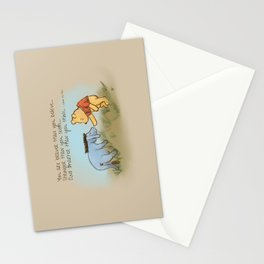 You Are Braver Than You Believe Stationery Cards