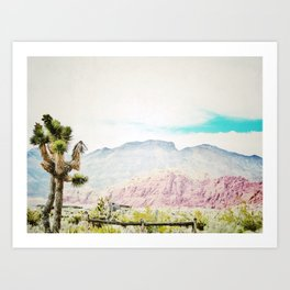 Cowbell Ranch Art Print