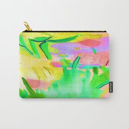 Flowers Sparkle  Carry-All Pouch