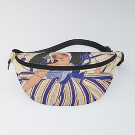 """Martha Romme Couture Design """"Fructidor"""" Fanny Pack"""