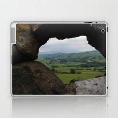 Rock Wall Window Laptop & iPad Skin