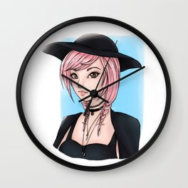 Leda Bunnie Wall Clock