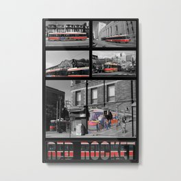 Red Rocket 30 Metal Print