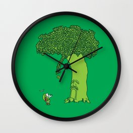 The Magic Tree Wall Clock
