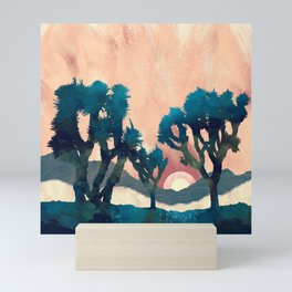 Sunset Desert Canyon Mini Art Print