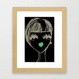 Art Deco Face No. 2 Framed Art Print