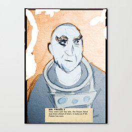 Mr. Freeze Canvas Print
