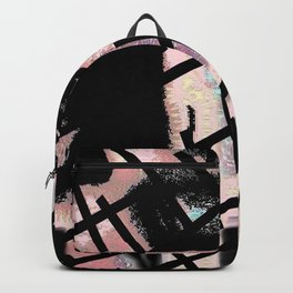 Black Railways Backpack