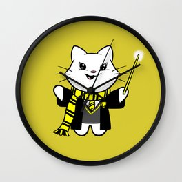 Wizardkitty Badger House! Wall Clock