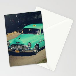 Driving to the past in La Habana Stationery Cards