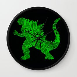 Japanese Monster - II Wall Clock