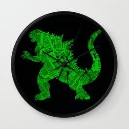 Japanese Monster - II Wall Clock