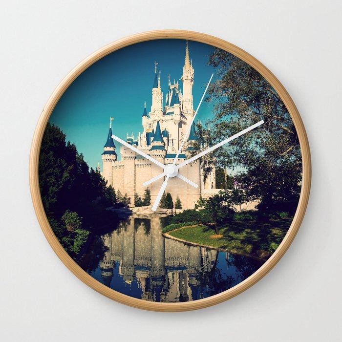 The Disney Castle Wall Clock