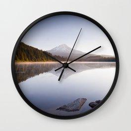 A Trillium Morning Wall Clock
