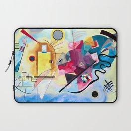 Wassily Kandinsky - Yellow Red Blue Laptop Sleeve