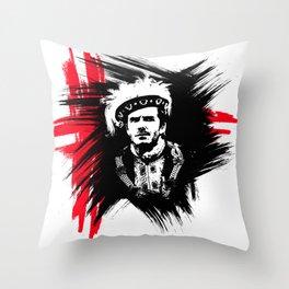 David Beckham - True King Throw Pillow
