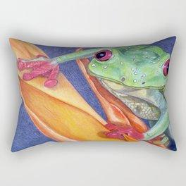 What You Lookin At?? Rectangular Pillow
