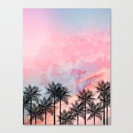 Summer Palm Tree #Society6 #Buyart #Decor Canvas Print