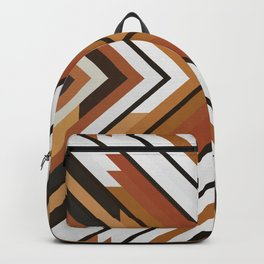 Bands pattern XI Backpack