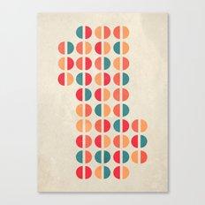 halfsies I Canvas Print