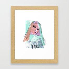 #83 Kokoro Framed Art Print