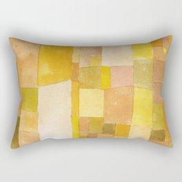 Golden Abstract - Paul Klee Rectangular Pillow