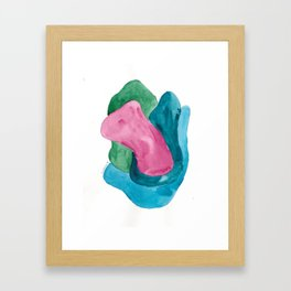 4   | 190724 | Shapes Studies Watercolour Painting Framed Art Print