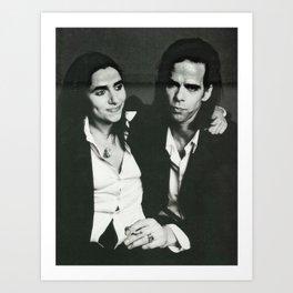 When PJ Met Nick Art Print