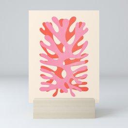 Sea Leaf: Matisse Collage Peach Edition Mini Art Print