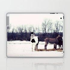a winter day Laptop & iPad Skin