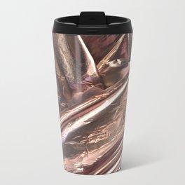 Rose Gold Foil Metal Travel Mug