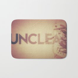 unclear? unclean? both? you decide Bath Mat
