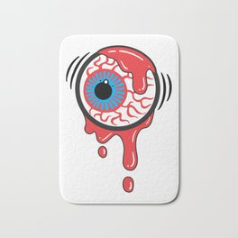Bloody Eyeball Bath Mat