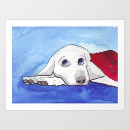 The Last Dog of a Dead Planet Art Print