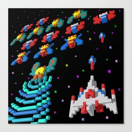 Inside Galaga Canvas Print