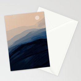 Moonlight View Stationery Cards