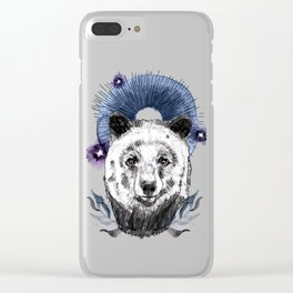 The Bear (Spirit Animal) Clear iPhone Case