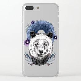 The Bear (Spirit Animal) Clear iPhone Case