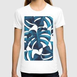 Tropical Monstera Leaves Dream #8 #tropical #decor #art #society6 T-shirt