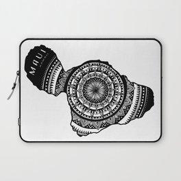 The Island of Maui [Tribal Illustration] Laptop Sleeve
