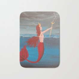 Mermaid queen Bath Mat
