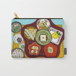 Japanese Veggie Platter Carry-All Pouch
