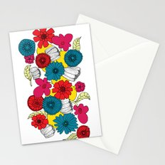 Scandinavian Flowers Stationery Cards